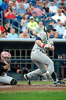 Cedar Rapids Kernels outfielder Zachary Borenstein #16 during a game against the Quad Cities River Bandits at Modern Woodmen Park on June 30, 2012 in Davenport, Illinois.  Quad Cities defeated Davenport 8-7.  (Mike Janes/Four Seam Images)