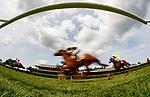 Saratoga Scenes, Race 1, Aug. 19, 2018 at the Saratoga Race Course, Saratoga Springs, NY.    (Bruce Dudek/Eclipse Sportswire)