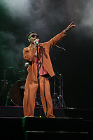 NEW YORK, NY - SEPTEMBER 11: Wizkid at BRIC Celebrate Brooklyn! Festival at The Lena Horne Bandshell in Prospect Park, Brooklyn, New York City on September 11, 2021. <br /> CAP/MPI/WG<br /> ©WG/MPI/Capital Pictures