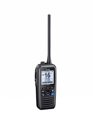 Icom IC-M94DE, The World's First Marine Handportable With a Built-In AIS Receiver!