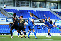 13th September 2020; Portman Road, Ipswich, Suffolk, England, English League One Footballl, Ipswich Town versus Wigan Athletic; Teddy Bishop of Ipswich Town scores with a header for 1-0 in the 11th minute