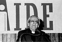 ALIMENT-AIDE Fundraiser of Cardinal Leger, November 14, 1985 at the Hilton-Bonaventure Hotel.<br /> <br /> <br /> File Photo : Agence Quebec Presse - Pierre Roussel