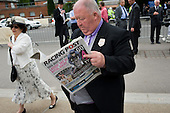 Irish horse-owner John Duddy outside the Royal Enclosure at Ascot racecourse.