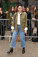 Pixie Geldof<br /> arrives for the Topshop Unique AW17 show as part of London Fashion Week AW17 at Tate Modern, London.<br /> <br /> <br /> ©Ash Knotek  D3232  19/02/2017