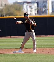 Gosuke Katoh - San Diego Padres 2021 spring training (Bill Mitchell)