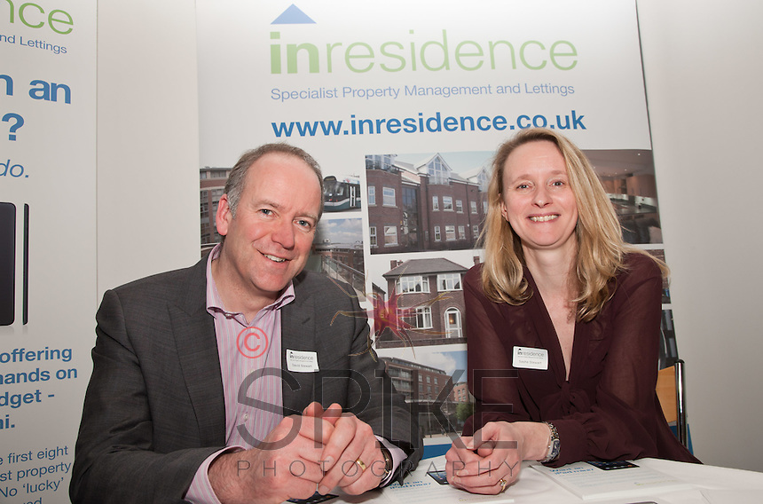 Inresidence were in residence at the expo - here are owners David and Sasha Stewart