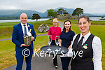 Anthony Barber, Lourda Phelan, Sheila O'Callaghan and Vanesa Fernan reday to welcome you to the views at the Killarney Park Hotel