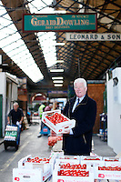 26/8/2011. Dublin Fruit and Vegetable Market. Gerard Dowling from Fresh Point is pictured at the Dublin Fruit and Vegetable Market. for over 40 years. Picture James Horan/Collins Photos