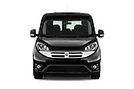 Car photography straight front view of a 2017 Ram Promaster City SLT 5 Door Mini Mpv Front View