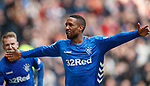 05.05.2019 Rangers v Hibs: Jermain Defoe celebrates