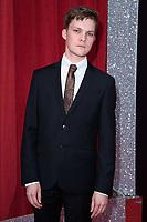 Thomas Atkinson<br /> arriving for the British Soap Awards 2018 at the Hackney Empire, London<br /> <br /> ©Ash Knotek  D3405  02/06/2018