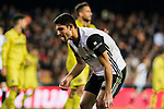 GonCalo Manuel Ganchinho Guedes of Valencia CF reacts during the La Liga 2017-18 match between Valencia CF and Villarreal CF at Estadio de Mestalla on 23 December 2017 in Valencia, Spain. Photo by Maria Jose Segovia Carmona / Power Sport Images
