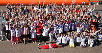 17-9-09, Netherlands,  Maastricht, Tennis, Daviscup Netherlands-France, Straattennis op de markt, groepsfoto met daviscupteam