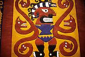 Lima, Peru. Moche (Mochica) Deity; National Museum.
