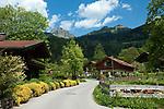Deutschland, Bayern, Oberbayern, Landkreis Miesbach, Luftkurort Bayrischzell: am Fuß des Wendelsteins   Germany, Upper Bavaria, Bayrischzell: with Wendelstein mountain