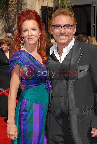 Gretchen Bonaduce and Danny Bonaduce<br />arriving at the 58th Annual Primetime Emmy Awards. The Shrine Auditorium, Los Angeles, CA. 08-27-06<br />Scott Kirkland/DailyCeleb.com 818-249-4998