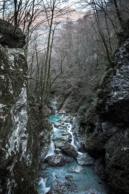 Der Nationalpark Triglav im Westen Sloweniens besteht in seiner heutigen Größe seit 1981. Er ist benannt nach dem höchsten Berg Sloweniens. / The Triglav National Park in the West of Slovenia was established in 1981 in it's modern form. The national Park is named after Slovenia's highest Mountain.