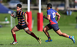 Kings College Colts v Kelston Boys High, Auckland Secondary Schools Rugby Age Group Finals, Marist Rugby Club, Panmure Auckland, Saturday 27 August 2016. Photo: Simon Watts/www.bwmedia.co.nz