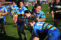 Action from the 2021 Taranaki Women's Rugby premier final between Clifton and Southern at Clifton RFC in Tikorangi, New Zealand on Saturday, 12 June 2020. Photo: Dave Lintott / lintottphoto.co.nz