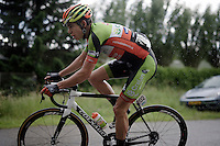 Another strong performance in horrendous conditions by cyclocross World Champion Wout Van Aert (BEL/Crelan-Vastgoedservice)<br /> <br /> stage 3: Buchten - Buchten (NLD/210km)<br /> 30th Ster ZLM Toer 2016