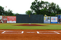 A view of AT&T Field from behind home plate prior to the Southern League game between the Montgomery Biscuits and the Chattanooga Lookouts on May 26, 2018 at AT&T Field in Chattanooga, Tennessee. (Andy Mitchell/Four Seam Images)