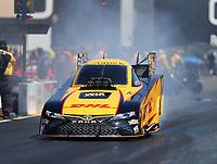 Jul 30, 2017; Sonoma, CA, USA; NHRA funny car driver J.R. Todd during the Sonoma Nationals at Sonoma Raceway. Mandatory Credit: Mark J. Rebilas-USA TODAY Sports