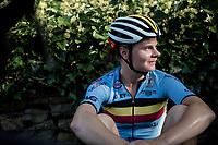 Lotte Kopecky (BEL/Liv Racing) post-race<br /> <br /> Women Elite - Road Race (WC)<br /> from Antwerp to Leuven (158km)<br /> <br /> UCI Road World Championships - Flanders Belgium 2021<br /> <br /> ©kramon