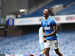 25.07.2020 Rangers v Coventry City: Joe Aribo celebrates his goal