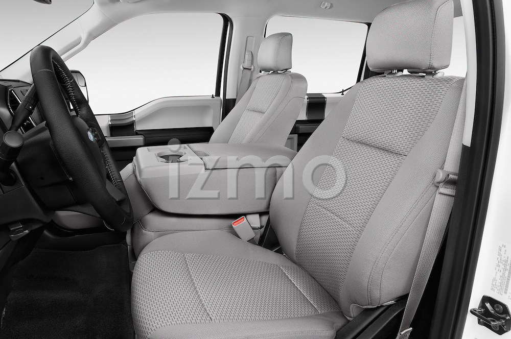 Front seat view of a 2015 Ford F-150 XLT SuperCrew 145-in Door Pickup Front Seat car photos