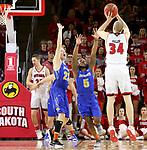 South Dakota State University at University of South Dakota Men's Basketball