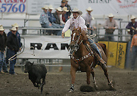 26 Aug 2010:  Tyson Durfey scored a time of 10.5 in the slack Tie Down Roping competition at the Kitsap County Stampede Wrangle Million Dollar PRCA Silver Rodeo Tour Bremerton, Washington.