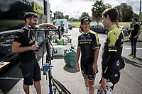 restday training & recon ride over the stage 10 iTT course with Team Mitchelton-Scott<br /> <br /> restday 1 in Pau (FRA)<br /> La Vuelta 2019<br /> <br /> ©kramon