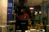 A producer gets ready for a broadcast of the Rapid T. Rabbit and Friends cable access television show.   Furries are a group of people who identify themselves not as being human but as a walking, talking animal.  For some the lifestyle is complete, animal traits reach into every aspect of life from mundane trips to a grocery store to sexual fantasies.  For others, involvement in the furry fandom is limited to public performances and meet-and-greets.