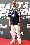 Spanish singer Hens during the photocall for the 'Fast & Furious 9' Madrid Premiere. June 17, 2021. (ALTERPHOTOS/Acero)