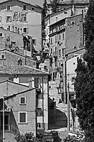 Abruzzo, Italia, paesi italiani, Scanno,
