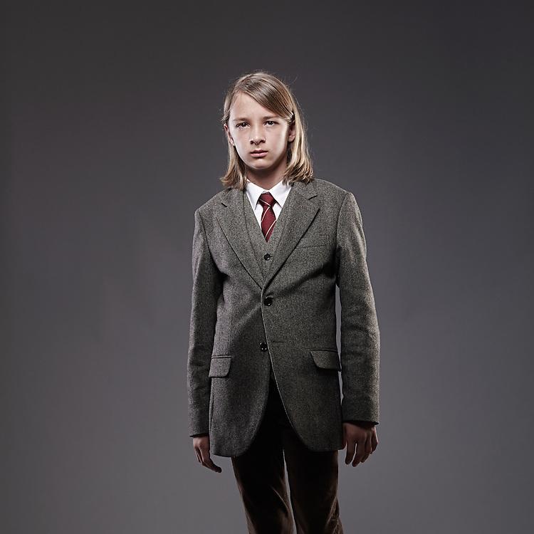 © John Angerson  <br /> 140108 - Times Magazine - Russian Education feature<br /> Oleg Sergienko. Aged 8