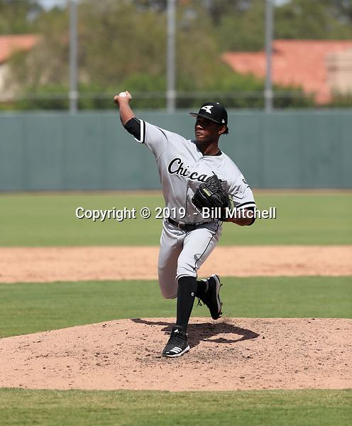 Yoelvin Silven - 2019 AIL White Sox (Bill Mitchell)