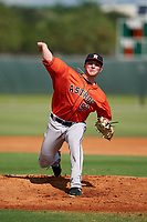 GCL Astros pitcher Jayson Schroeder (51) during a Gulf Coast League game against the GCL Cardinals on August 11, 2019 at Roger Dean Stadium Complex in Jupiter, Florida.  GCL Cardinals defeated the GCL Astros 2-1.  (Mike Janes/Four Seam Images)
