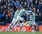 Kris Commons celebrates after scoring the second goal