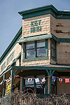 1851 Hotel Jeffery, downtown architecture and details, historic Mother Lode Gold Country town of Coulterville in Mariposa County.