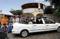 Italien, Capri, Taxi in Anacapri