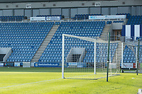 A general view at the JobServe Community Stadium during Colchester United vs Marine, Emirates FA Cup Football at the JobServe Community Stadium on 7th November 2020