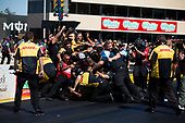NHRA Mello Yello Drag Racing Series<br /> Toyota NHRA Sonoma Nationals<br /> Sonoma Raceway, Sonoma, CA USA<br /> Sunday 30 July 2017<br /> J.R. Todd, DHL, Toyota, Camry, Funny Car, Winner, Celebration<br /> <br /> World Copyright: Jason Zindroski<br /> HighRev Photography