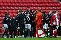 22nd May 2021; Stadium of Light, Sunderland, Tyne and Wear, England; English Football League, Playoff, Sunderland versus Lincoln City; Lincoln City players celebrate after beating Sunderland 3-2 (aggregate)