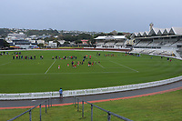 A general view of the Wellington under-7 rippa rugby matches at the Basin Reserve in Wellington, New Zealand on Saturday, 29 May 2021. Photo: Dave Lintott / lintottphoto.co.nz