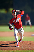 Philadelphia Phillies pitcher Brandon Leibrandt during an Instructional League game against the Toronto Blue Jays on October 1, 2016 at the Carpenter Complex in Clearwater, Florida.  (Mike Janes/Four Seam Images)