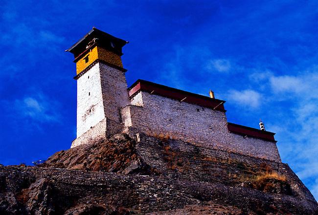 Yumbu Lakang (First Palace), Tibet Autonomous Region, China, Asia