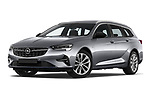 Stock pictures of low aggressive front three quarter view of 2021 Opel Insignia-Sports-Tourer Ultimate 5 Door Wagon Low Aggressive