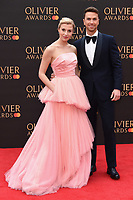 Richard Fleeshman<br /> arriving for the Olivier Awards 2019 at the Royal Albert Hall, London<br /> <br /> ©Ash Knotek  D3492  07/04/2019