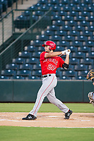 AZL Angels shortstop Nonie Williams (27) at bat against the AZL White Sox on August 14, 2017 at Diablo Stadium in Tempe, Arizona. AZL Angels defeated the AZL White Sox 3-2. (Zachary Lucy/Four Seam Images)